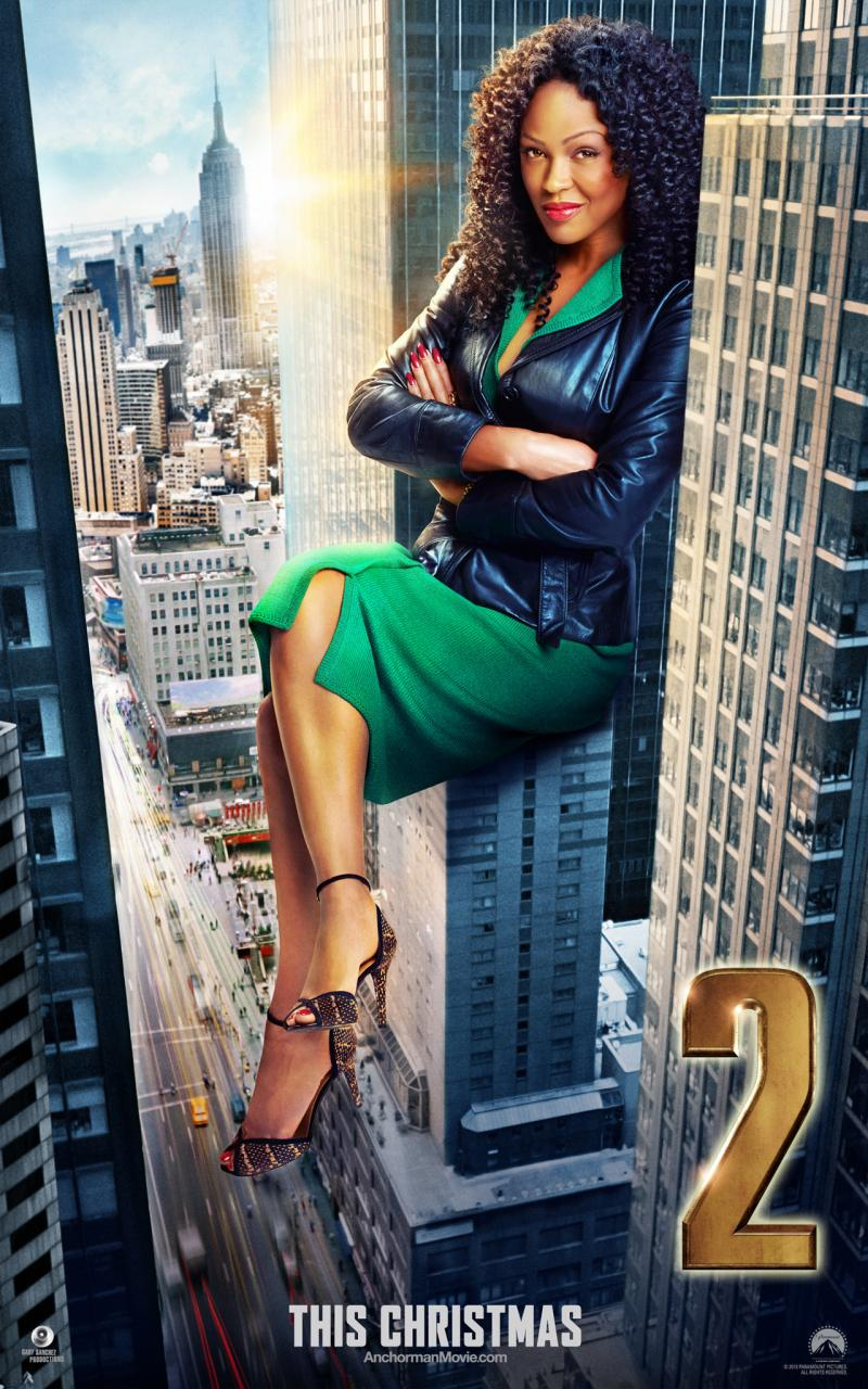 Check out Meagan Good in Anchorman 2 The Legend