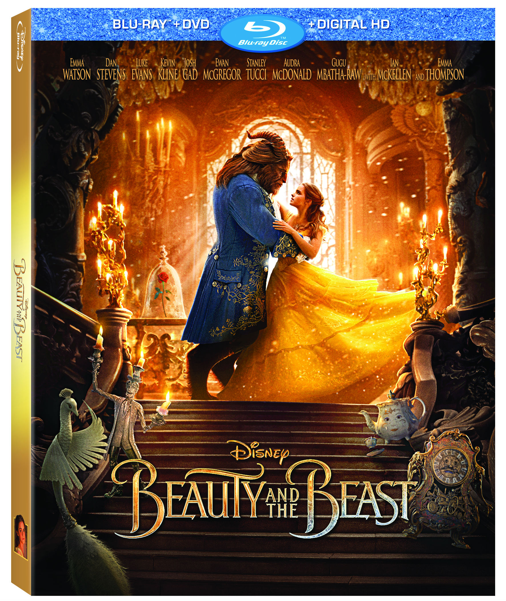 Disney S Beauty And The Beast Hits Digital Hd Blu Ray
