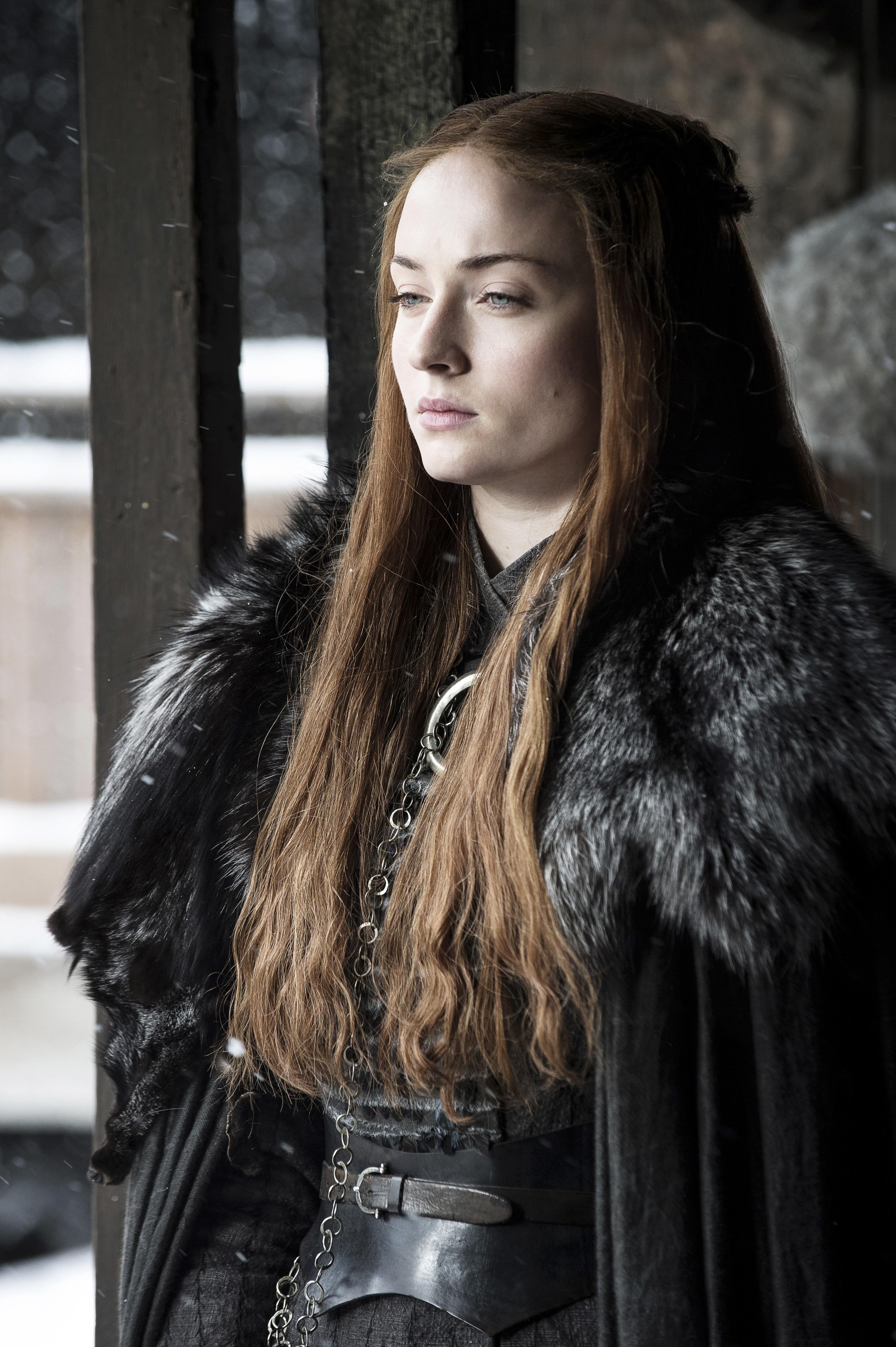 Game of Thrones Season 7 Sophie Turner as Sansa Stark 2  blackfilmcomread  blackfilmcomread