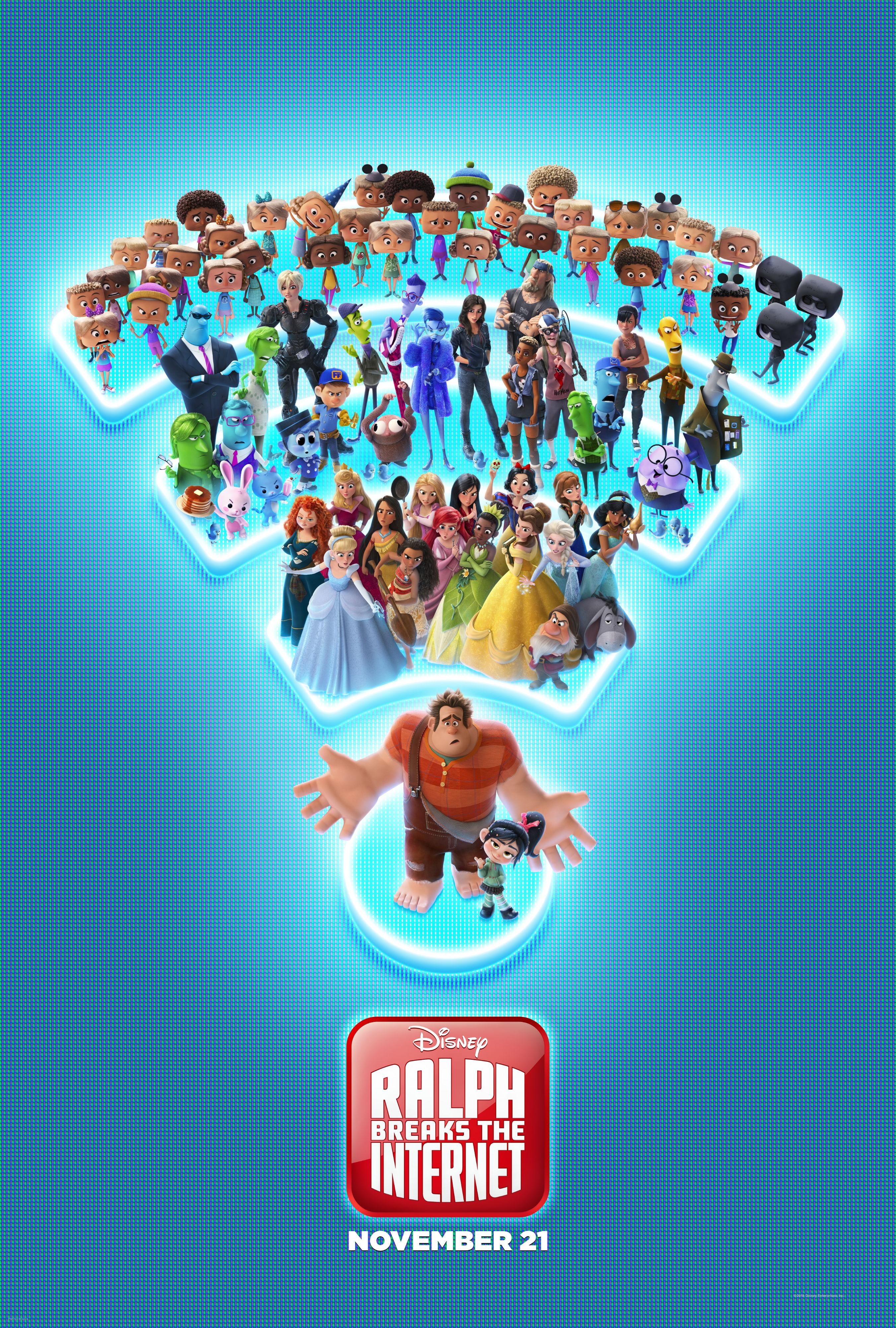 New Trailer & Poster to Ralph Breaks the Internet: Wreck-It Ralph 2 - blackfilm.com/read | blackfilm.com/read