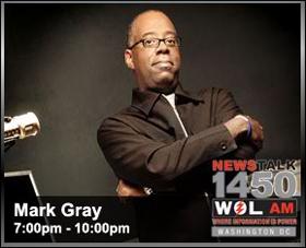 Mark Gray, 1450 WOL-AM