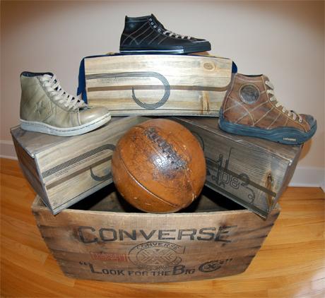 Converse Black Fives Century Pack