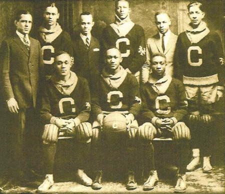 The Commonwealth Big Five basketball team