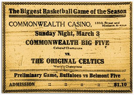 Commonwealth vs. Celtics ad
