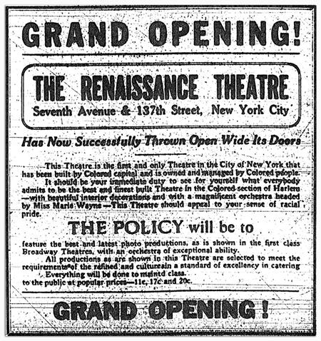 Renaissance grand opening