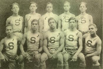 The Smart Set Athletic Club basketball team of Brooklyn
