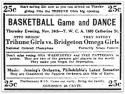 Philadelphia Tribune Girls advertisement