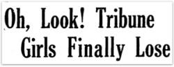 Philadelphia Tribune Girls headline