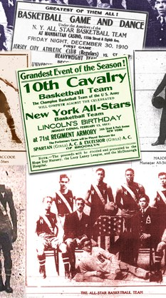 New York All Stars photo collage