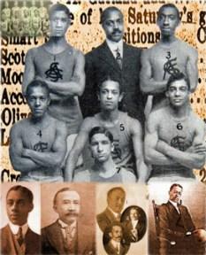 Smart Set Athletic Club of Brooklyn photo collage