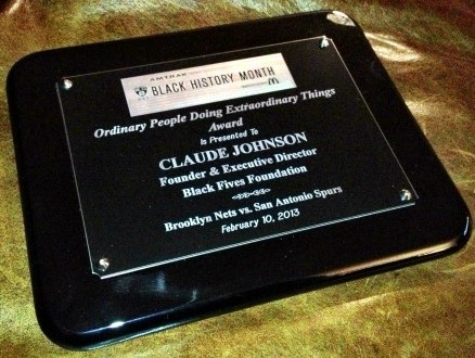 Nets Recognition Plaque