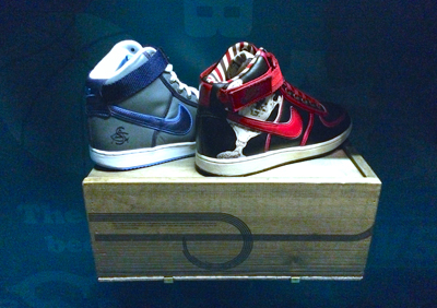 Nike Black Fives Limited Edition Retro Shoes