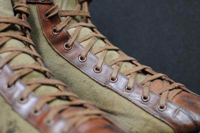 Vintage 1910s Basketball Shoes