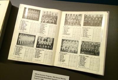 Official Souvenir Program, 10th Annual World's Championship Basketball Tournament, 1948