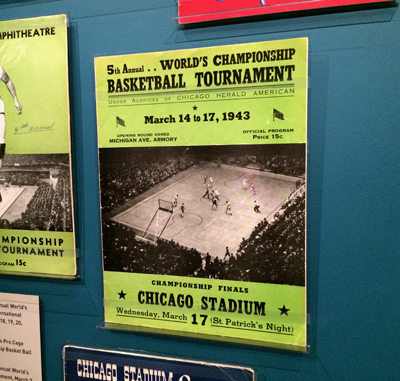 Official Souvenir Program, 5th Annual World's Championship Basketball Tournament, March 14 to 17, 1943 | 1943