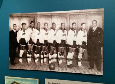 Savoy Big Five basketball team, 1927