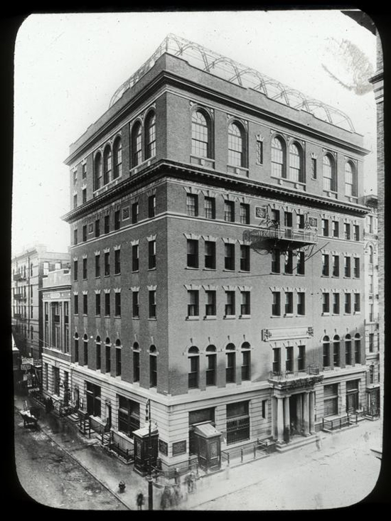 University Settlement Building, ca. 1906