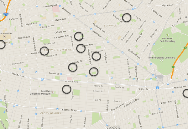 Brooklyn sites related to the Black Fives Era