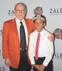 Jerry Reinsdorf with Carnegie Johnson