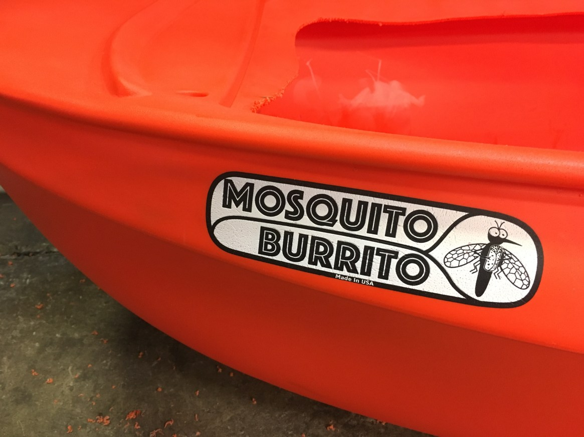 From the Shop: Dude, Where's my Mosquito Burrito?