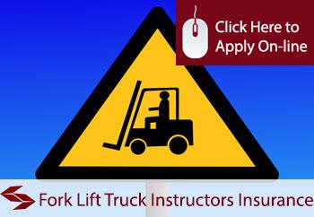self employed fork lift truck instructors liability insurance