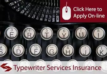 typewriter services insurance