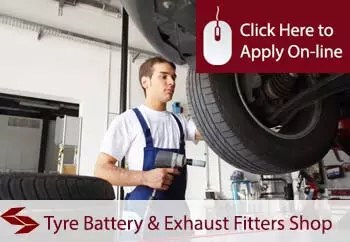 Tyre Battery And Exhaust Fitters Shop Insurance