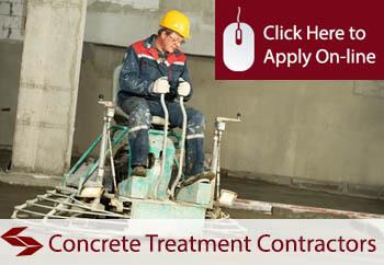 self employed concrete treatment contractors liability insurance