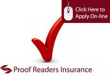 proof readers insurance