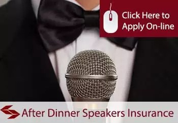 After Dinner Speakers Professional Indemnity Insurance