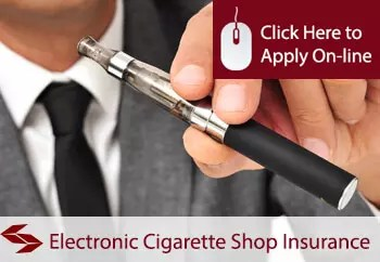 Electronic Cigarette Shop Insurance