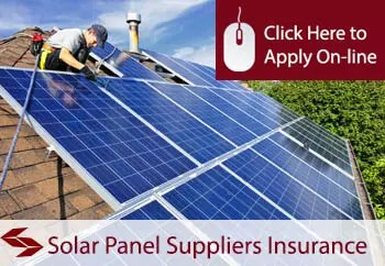 Solar Panel Suppliers Liability Insurance