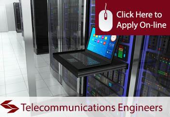 self employed telecommunication engineers liability insurance