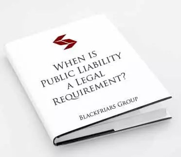 is public liability a legally required