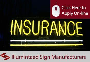 illuminated sign manufacturers insurance