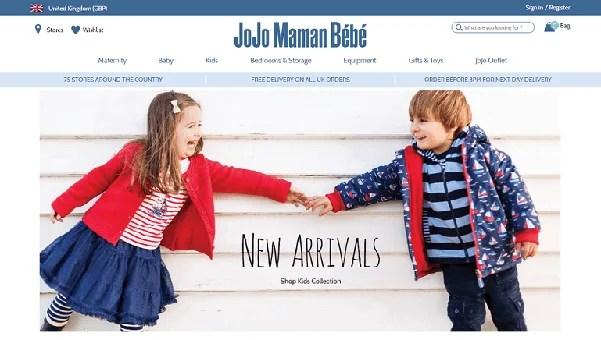 JoJo Maman Bebe Black Friday UK 2020 Deals