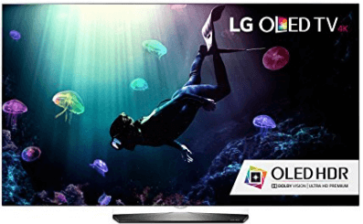LG OLED55B6P Flat 55-Inch 4K Ultra HD Smart OLED TV Black Friday Sale 2016