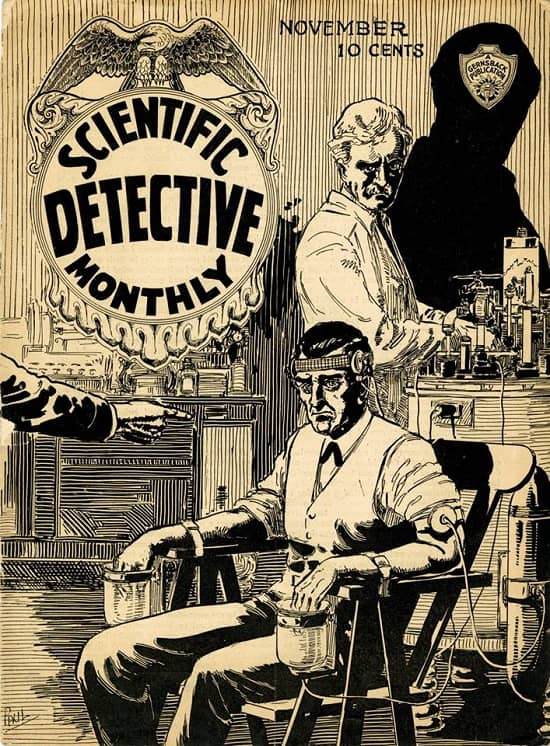 Windy City Pulp and Paper auction Scientific Detective Monthly-small