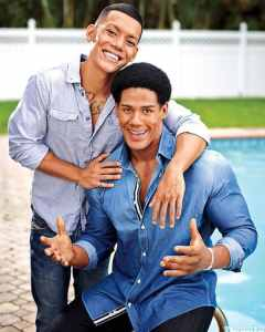 Black Gay Couples: Nick Villa and Darren Young