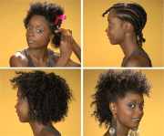 flat twist with banding