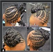 braided styles gave
