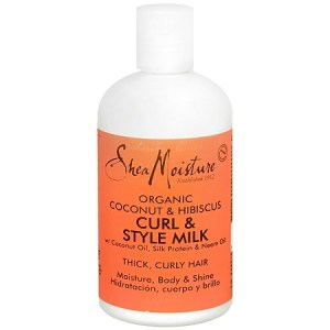 Shea Moisture Organic Curl & Style Hair Milk Coconut & Hibiscus