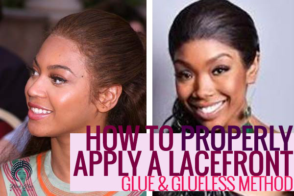 Wearing Wigs - Glue and Glueless Methods