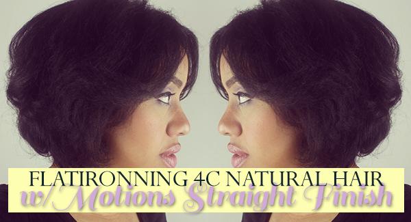 Can You Flat Iron 4c Natural Hair Blackhairkitchen