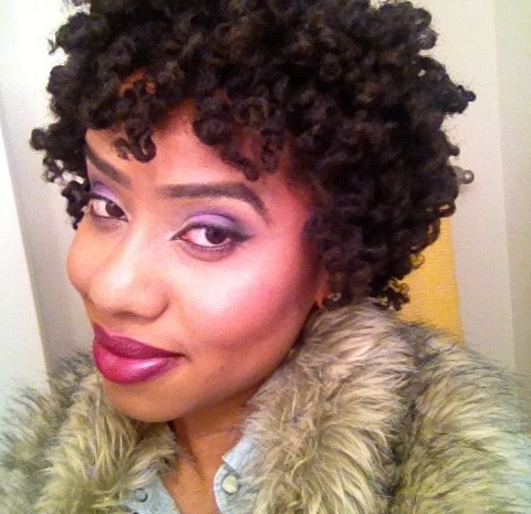 Curly twist out