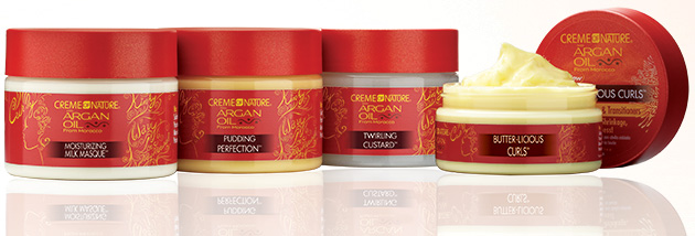Product Review Creme of Nature Argan Oil Moisture Mask  Twirling Custard  BlackHairKitchen