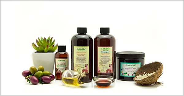 Just Natural Brand African American Natural Hair Products Review