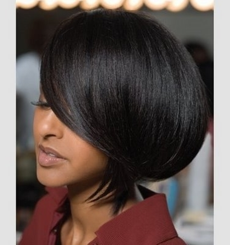 Medium Bob Hairstyles African AmericanBlack Hair Style Black