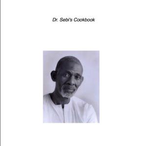 dr sebis cookbook cover art