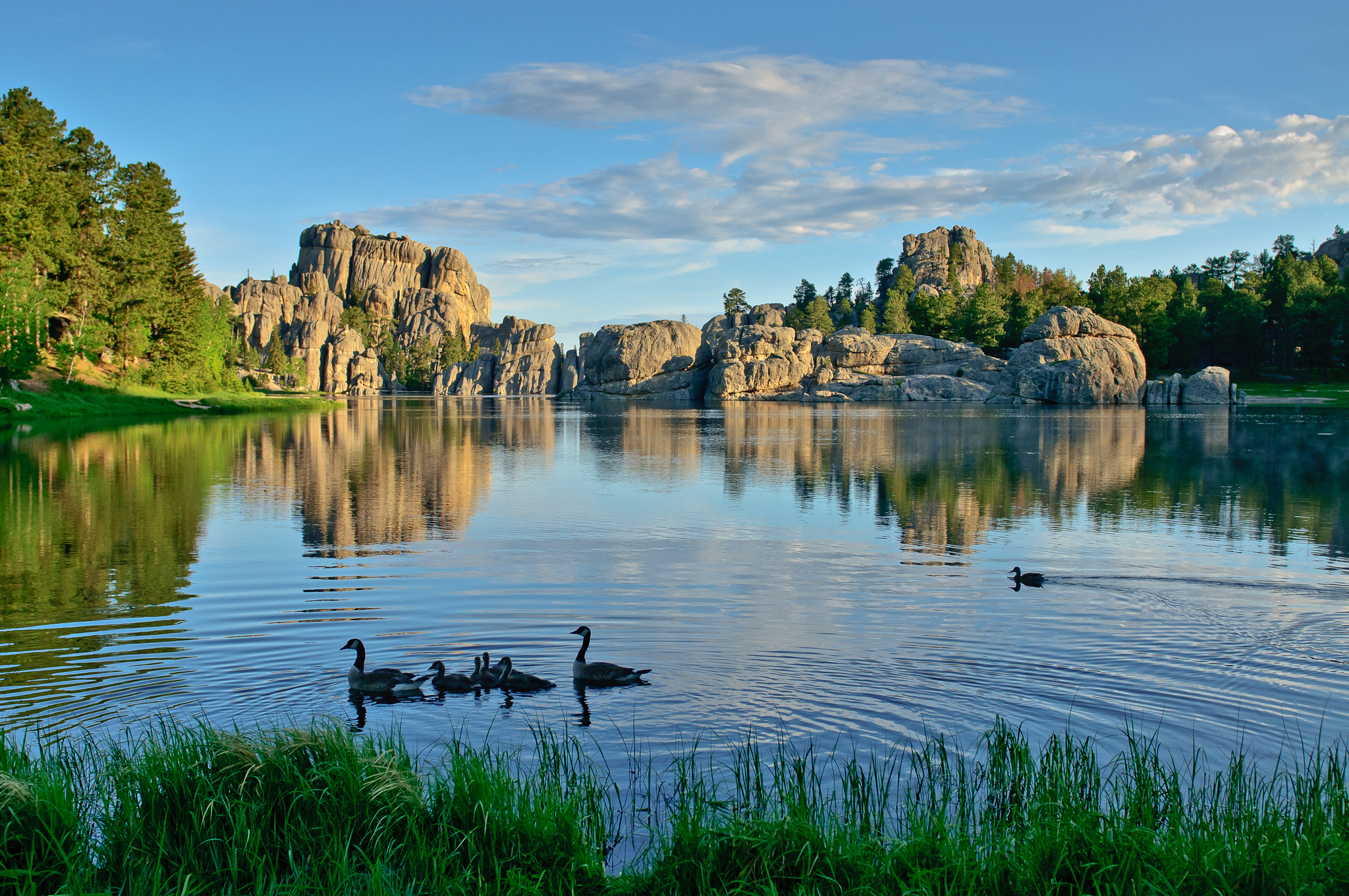 Sylvan Lake  Black Hills  Badlands  South Dakota
